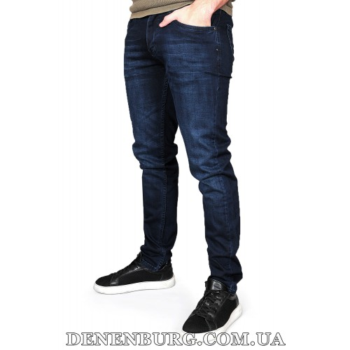 Джинсы мужские HUGO BOSS 21-RGL1011-367 тёмно-синие