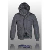 Куртка мужская зимняя BLACK LEOPARD WOLF 12-6890 тёмно-серая
