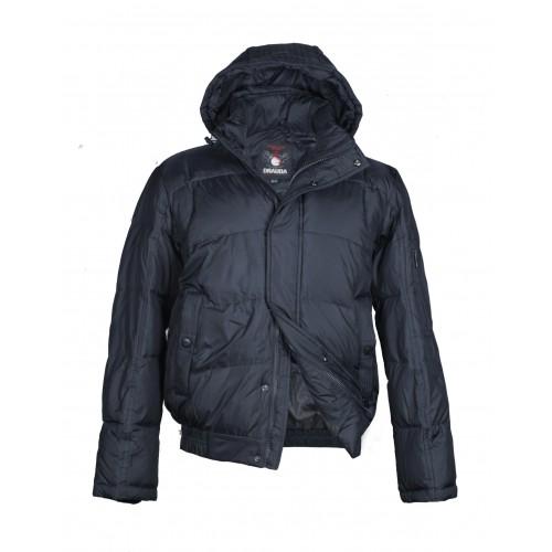Куртка-пуховик мужская DRAUDA 12146 тёмно-синяя