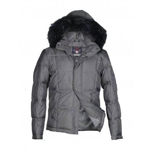 Куртка-пуховик мужская DRAUDA 12147 серая
