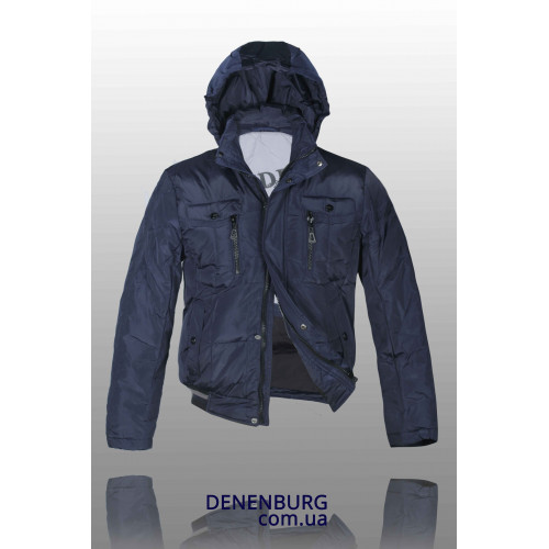 Куртка-пуховик мужская VENIDISE P 13006 синяя