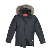 Куртка-пуховик мужская VOYAGE 133 (BT) чёрная, хаки