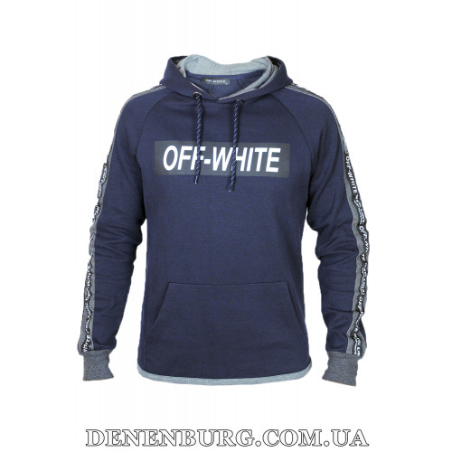 Костюм спортивный мужской OFF-WHITE 139 тёмно-синий