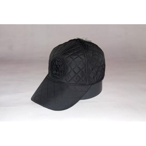 Бейсболка мужская утеплённая STEFANO RICCI 156-18 чёрная