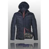 Куртка мужская зимняя BLACK LEOPARD WOLF 158152 тёмно-синяя