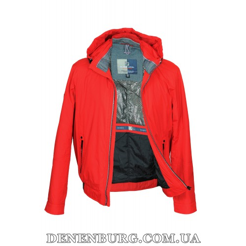Куртка мужская демисезонная BLACK VINYL 17-810-1 красная