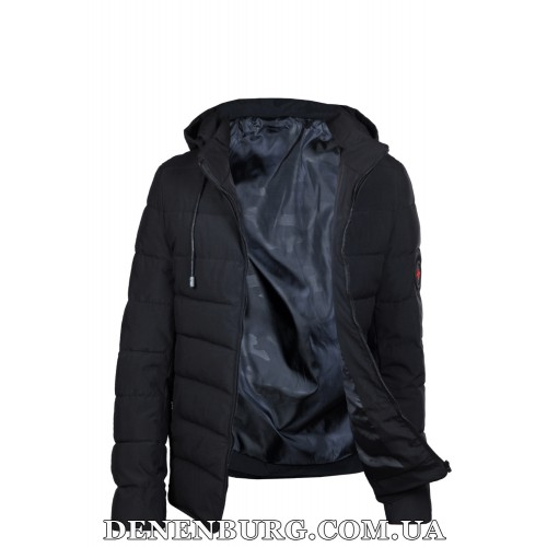 Куртка мужская еврозима H.R.X. 18-62 чёрная