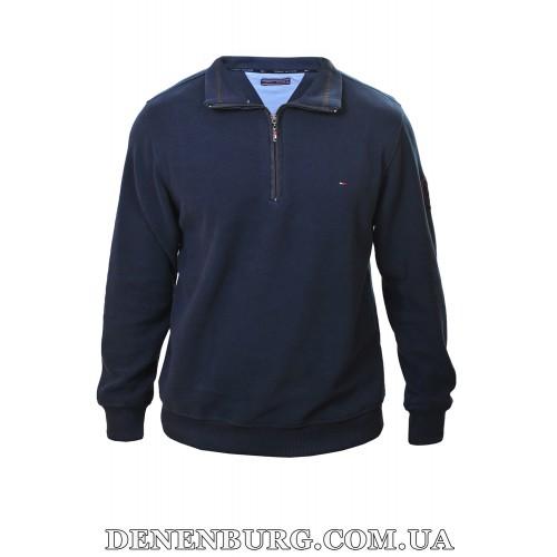 Свитер-поло мужской TOMMY HILFIGER 18-630 тёмно-синий