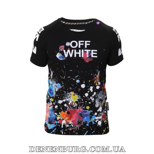 Футболка мужская OFF-WHITE 19-1011 чёрная