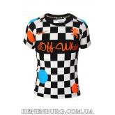 Футболка мужская OFF-WHITE 19-1019 чёрная