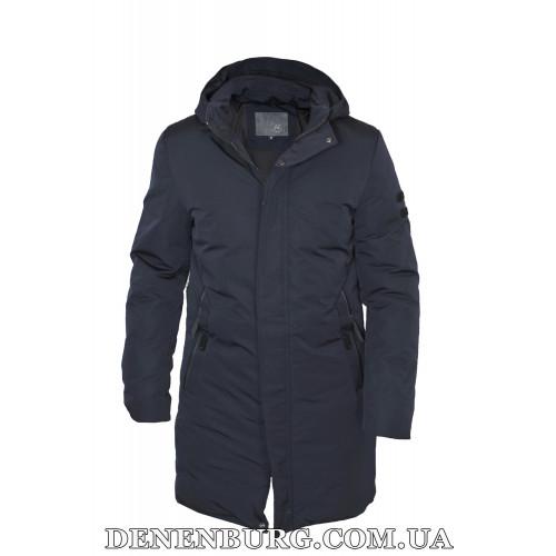 Куртка мужская зимняя HDGF 20-L19016 тёмно-синяя