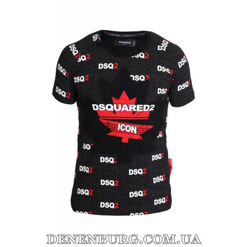 Футболка мужская DSQUARED2 19-3021 чёрная