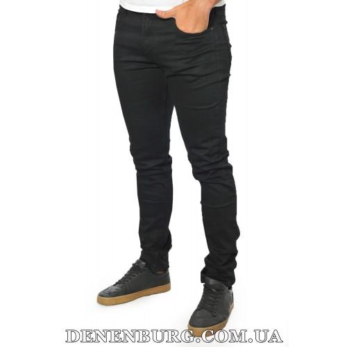 Джинсы мужские MUZZO 19-30240-334 чёрные