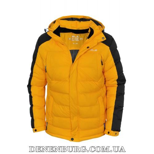 Куртка мужская зимняя RLZ 19-51801 жёлтая