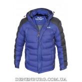 Куртка мужская зимняя RLZ 19-51801 синяя