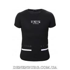 Футболка мужская OFF-WHITE 19-5181 чёрная