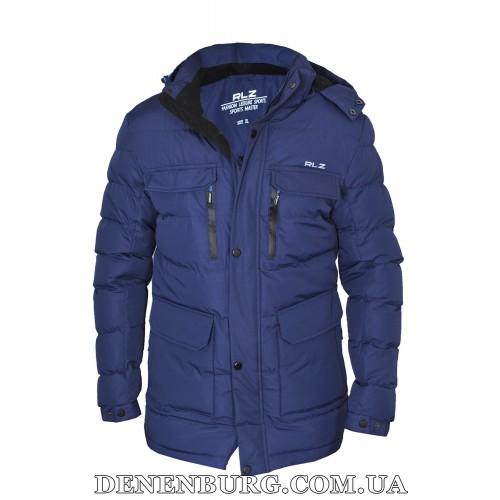Куртка мужская зимняя RLZ 19-51823 синяя