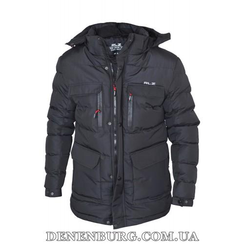 Куртка мужская зимняя RLZ 19-51823 чёрная