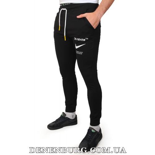 Штаны спортивные мужские OFF-WHITE 19-5193 чёрные