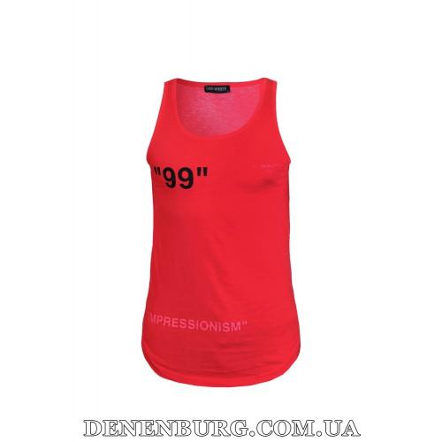Майка мужская OFF-WHITE 19-5222 красная