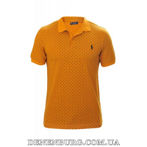 Футболка-поло мужская POLO 19-5270 горчичная