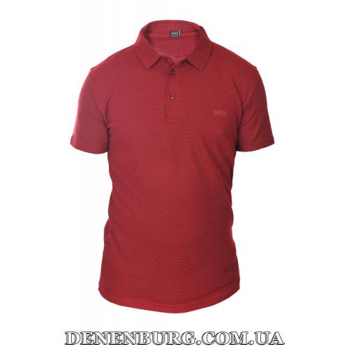 Футболка-поло мужская HUGO BOSS 19-5285 бордовая