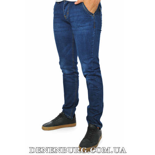 Джинсы мужские DISVOCAS 19-6018 тёмно-синие