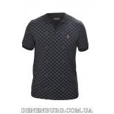 Футболка-поло мужская LOUIS VUITTON 19-7652 чёрная