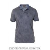 Футболка-поло мужская LOUIS VUITTON 19-7653 синяя