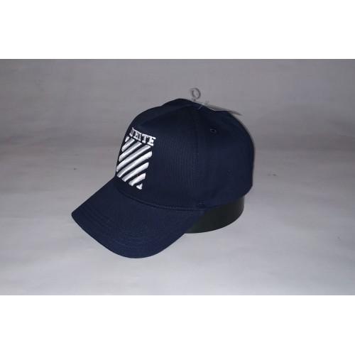 Бейсболка мужская OFF-WHITE 19-82 тёмно-синяя