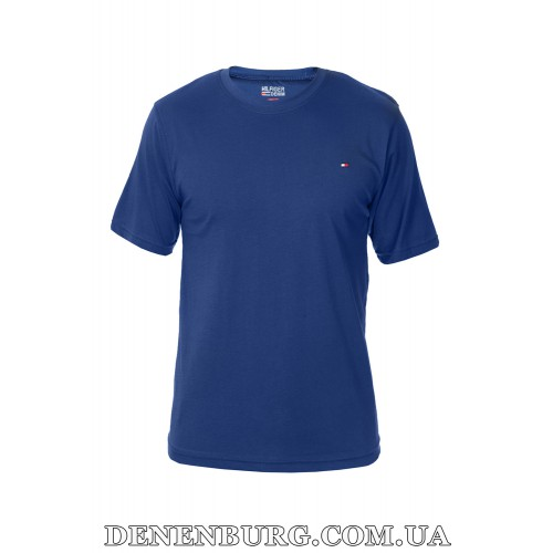 Футболка мужская TOMMY HILFIGER 19-85 синяя