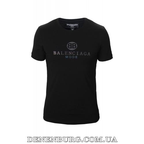 Футболка мужская BALENCIAGA 19-95185 чёрная