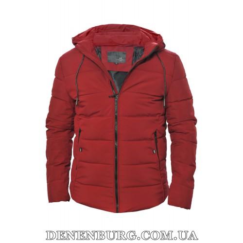 Куртка мужская зимняя HDGF 19-9933 бордовая