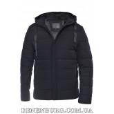 Куртка мужская зимняя HANDIGEFENG 19-9978 тёмно-синяя