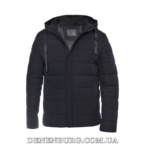 Куртка мужская зимняя HDGF 19-9978 тёмно-синяя
