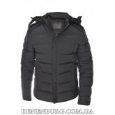 Куртка мужская зимняя HDGF 19-9978 тёмно-серая