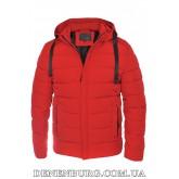 Куртка мужская зимняя HANDIGEFENG 19-9978 красная