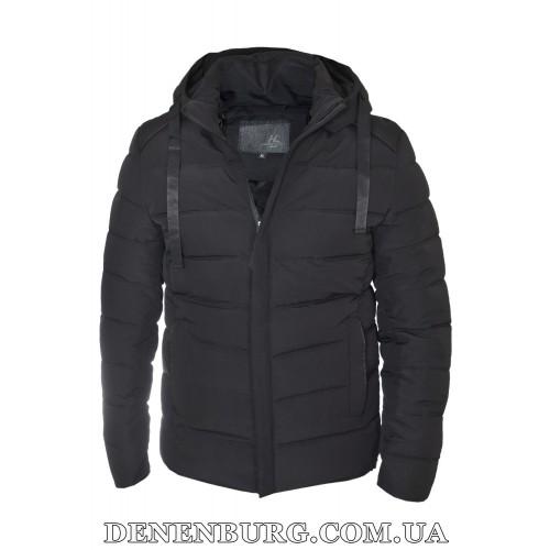 Куртка мужская зимняя HANDIGEFENG 19-9978 чёрная