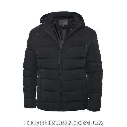 Куртка мужская зимняя HDGF 19-9983B тёмно-синяя