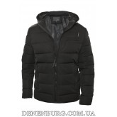 Куртка мужская зимняя HDGF 19-9983B чёрная