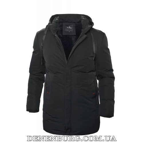 Куртка мужская зимняя BAIERAOFENG 19-9992 тёмно-синяя