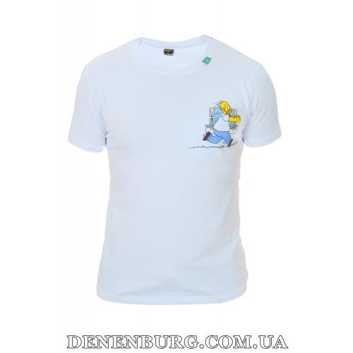Футболка мужская OFF-WHITE 19-C-6137 белая