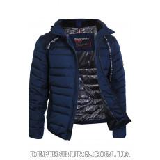Куртка мужская зимняя BLACK VINYL 19-C19-1303C-1 тёмно-синяя