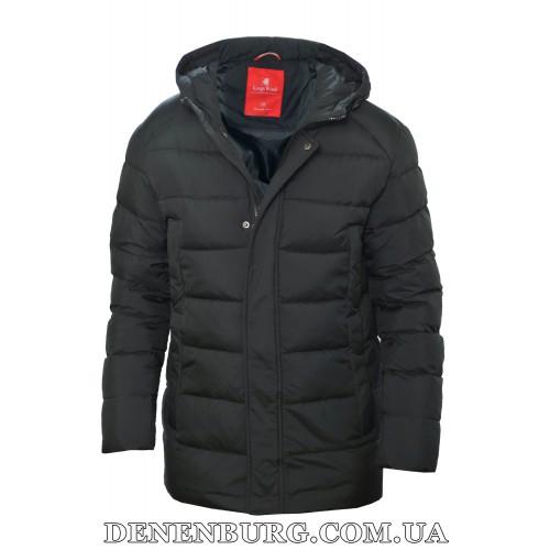 Куртка мужская зимняя KINGS WIND 19-L02 чёрная