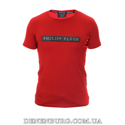 Футболка мужская PHILIPP PLEIN 20-Y504 (20-P-518B) бордовая