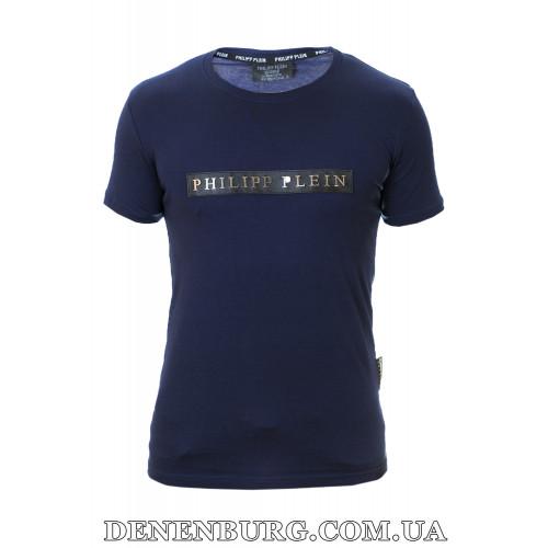 Футболка мужская PHILIPP PLEIN 20-Y504 (20-P-518B) тёмно-синяя