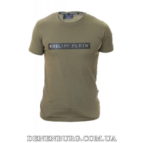 Футболка мужская PHILIPP PLEIN 20-Y504 хаки
