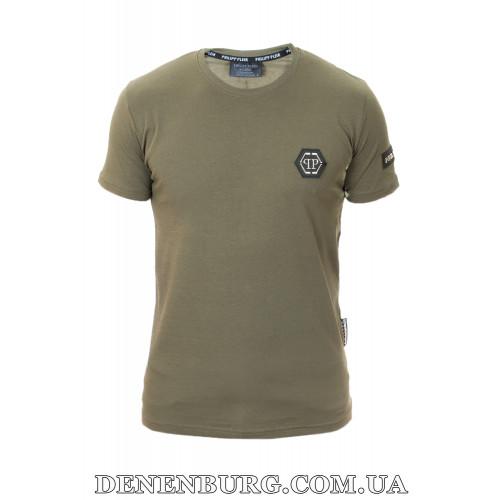 Футболка мужская PHILIPP PLEIN 20-Y-502 (20-P-517B) хаки