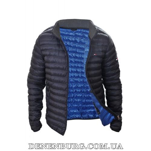 Куртка мужская демисезонная TOMMY HILFIGER 2319 тёмно-синяя