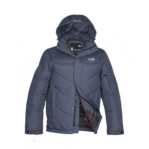 Куртка-пуховик мужская TIGER FORCE 278 серая